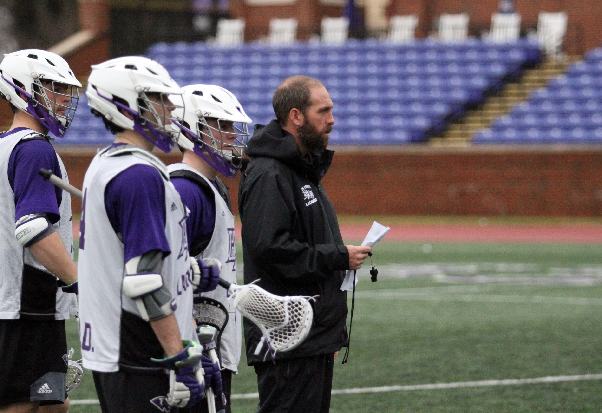 - Coach Tracy is a former Division I Lacrosse Coach with 16 years collegiate coaching experience. Coach Tracy started his career at Goucher College as an undergraduate coach in 2005 and then as a Graduate coach in 2006. As Goucher he was the offensive coordinator, recruiting coordinator and strength and condition program coordinator. In the Fall of 2006 he was offered the assistant offensive coordinator and goalie coach position at Dartmouth College where he was also responsible for all recruiting camps, youth lacrosse clinics and scouting reports. In 2007 Coach Tracy was asked to join the coaching staff at UMBC as the Defensive Coordinator and Head Goalie Coach. After 5 seasons with the Retrievers, 2 conference championships, 2 trips to the NCAA tournament and rankings in the Top 10 of Divisions I Lacrosse. In 2011 he accepted an invitation to help build a new Division I program at High Point University as the Associate Head Coach and Offensive Coordinator. While at HPU he won 3 conference championships, made competitive appearances at the NCAA tournament, coached 49 All Conference players, 16 All Americans, 14 future Professional players and recruited 62 high school All American Student Athletes.