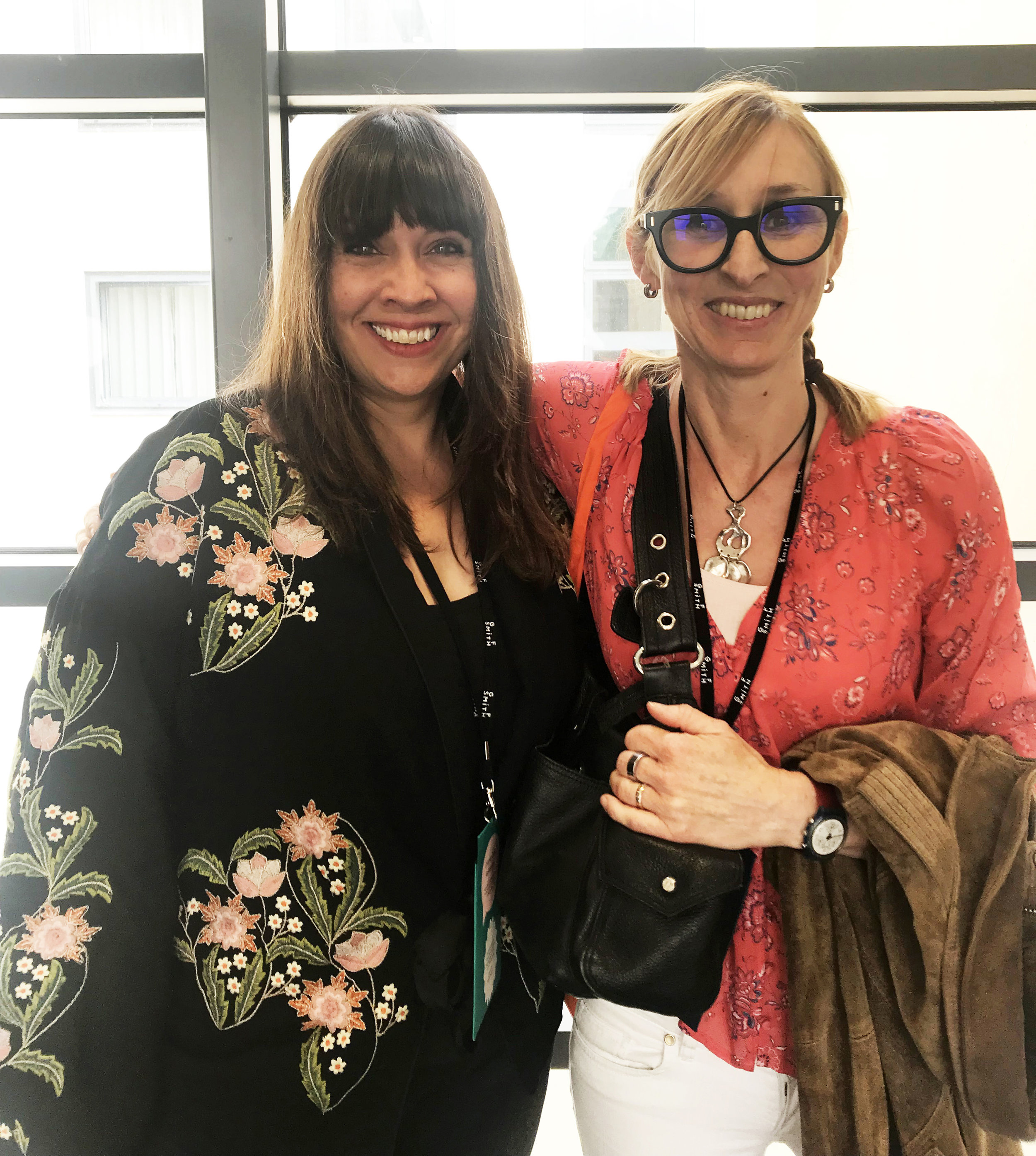 Celebrating new partnerships - Jehane Boden Spiers & Tracey English