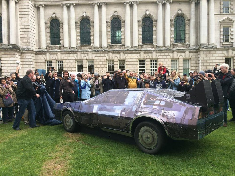 Belfast Photo Festival - Delorean Print Project