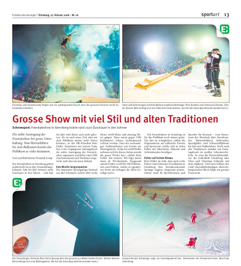 Show 2018Text und Bild vonMartin Dominik Zemp -