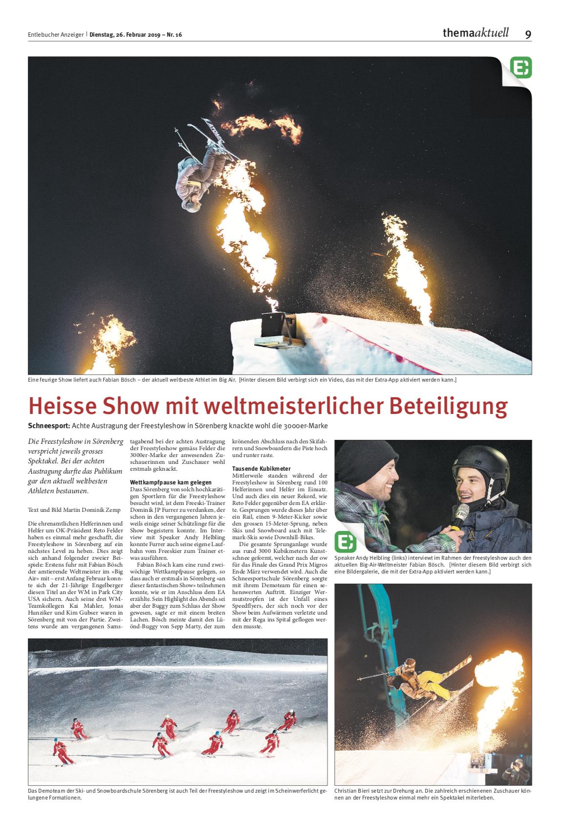 Show 2019Text und Bild vonMartin Dominik Zemp -
