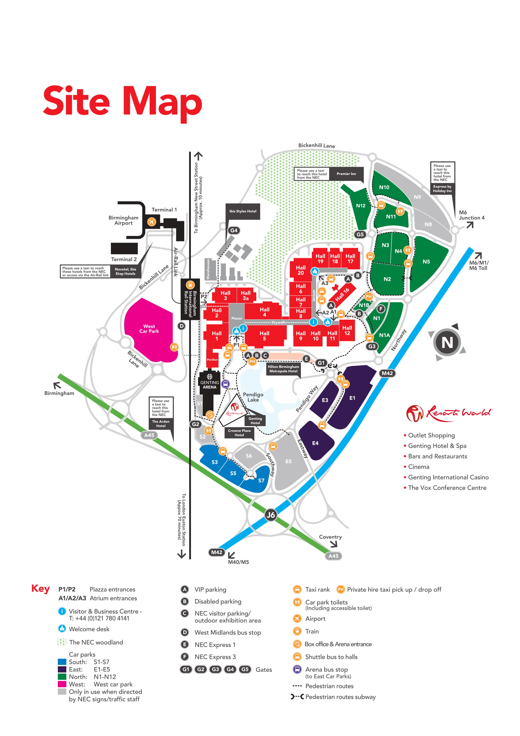 Nec Car Park Map Event Information — NACFB Commercial Finance Expo 2019