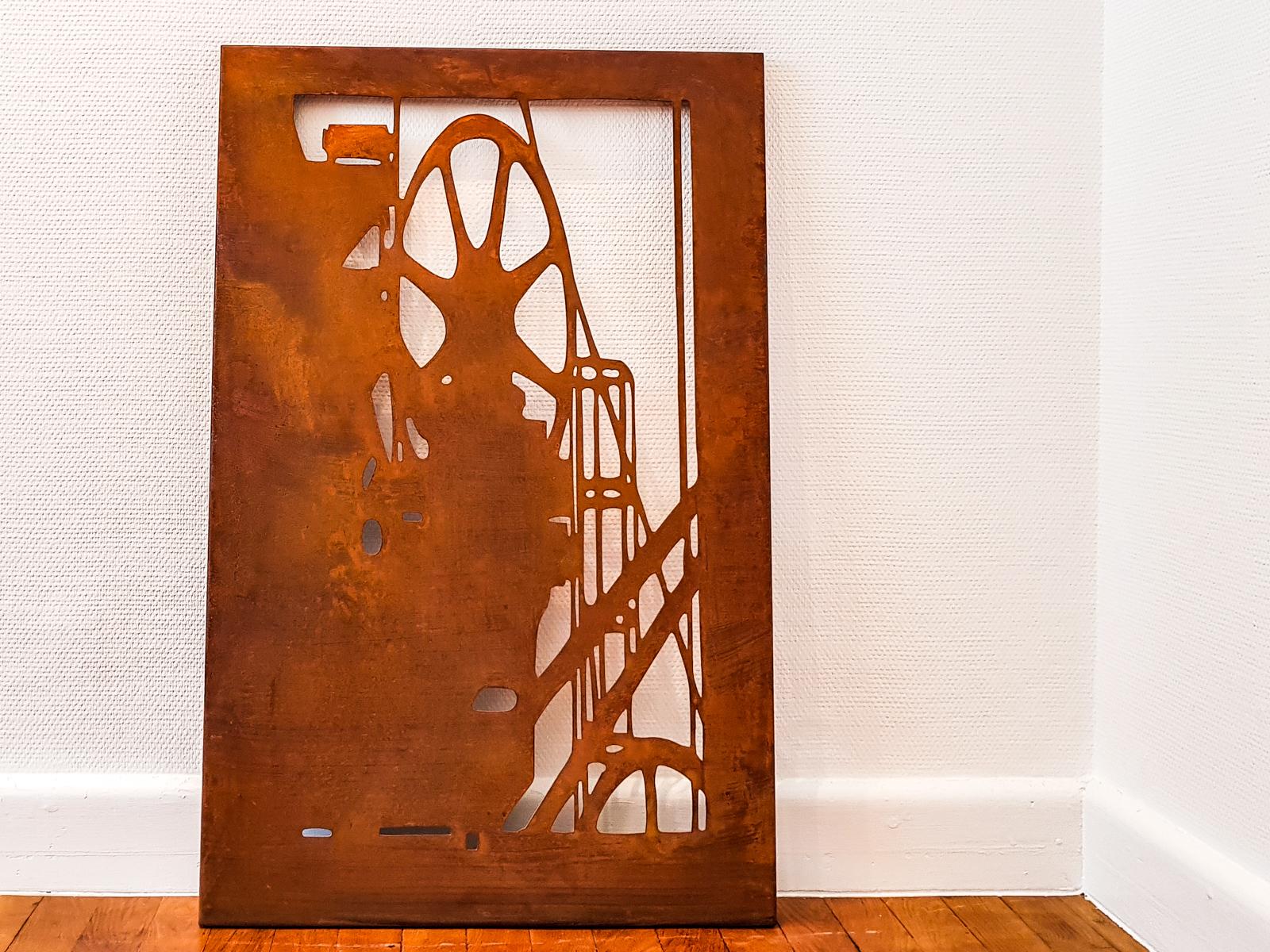 Shadows of industrial past 1 - Metal Plate60 x 90 cmEUR 4.500