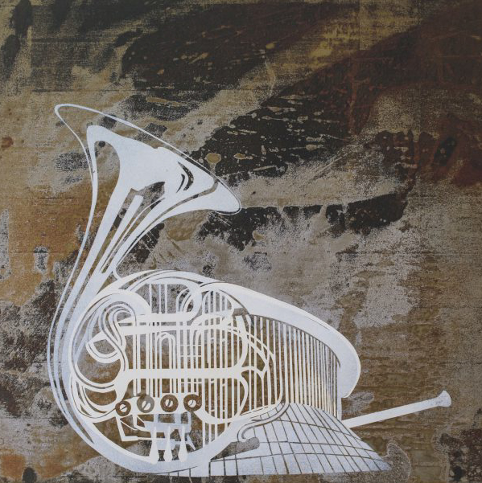 French Horn - Offset printDimensions 60 x 60Price: From EUR 180