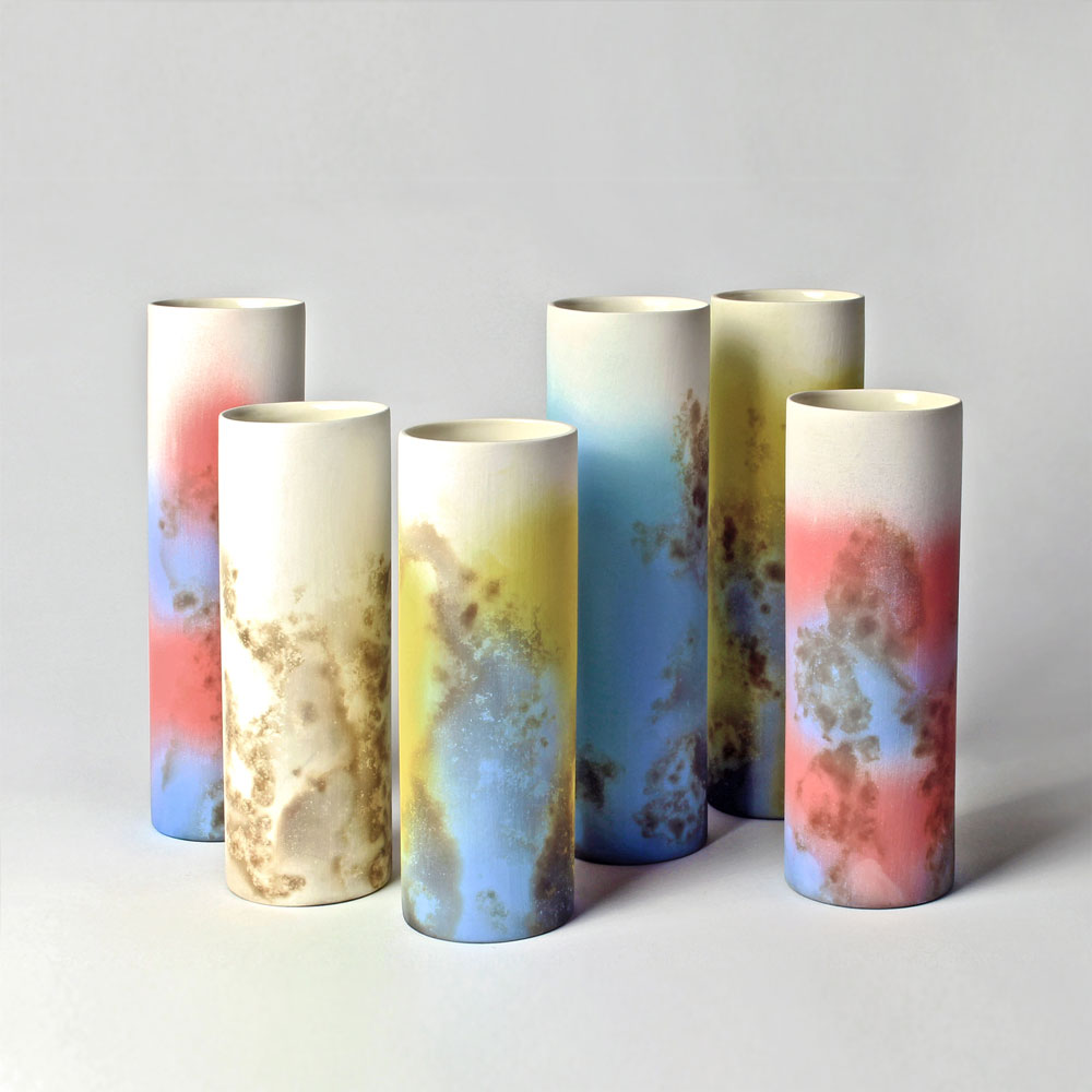 Tessa Wolfe Murray - Another familiar artist to many locals is ceramicist Tessa Wolfe Murray whose open house in Lorna Road has been a 'must see' in previous years.This year Tessa is taking a break from opening her own house and is happy to have Art in Bloom host her work.Tessa will have a selection of ceramics, including her botanically inspired vases and her very stylish ceramic jewellery.