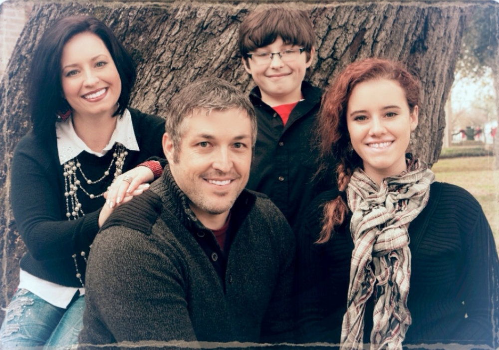 Casey and April Zimmerman with their daughter, Jordan, and son, Ryan.