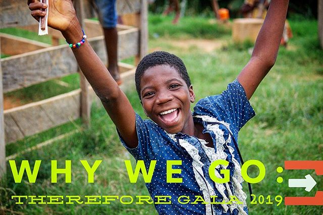 """We're so excited about our plans for this weekend's Therefore Gala. Come learn the answer to some incredibly important questions. """"Why We Go"""" """"How We Go"""" """"Should I Go"""" & """"Help Others Go""""."""