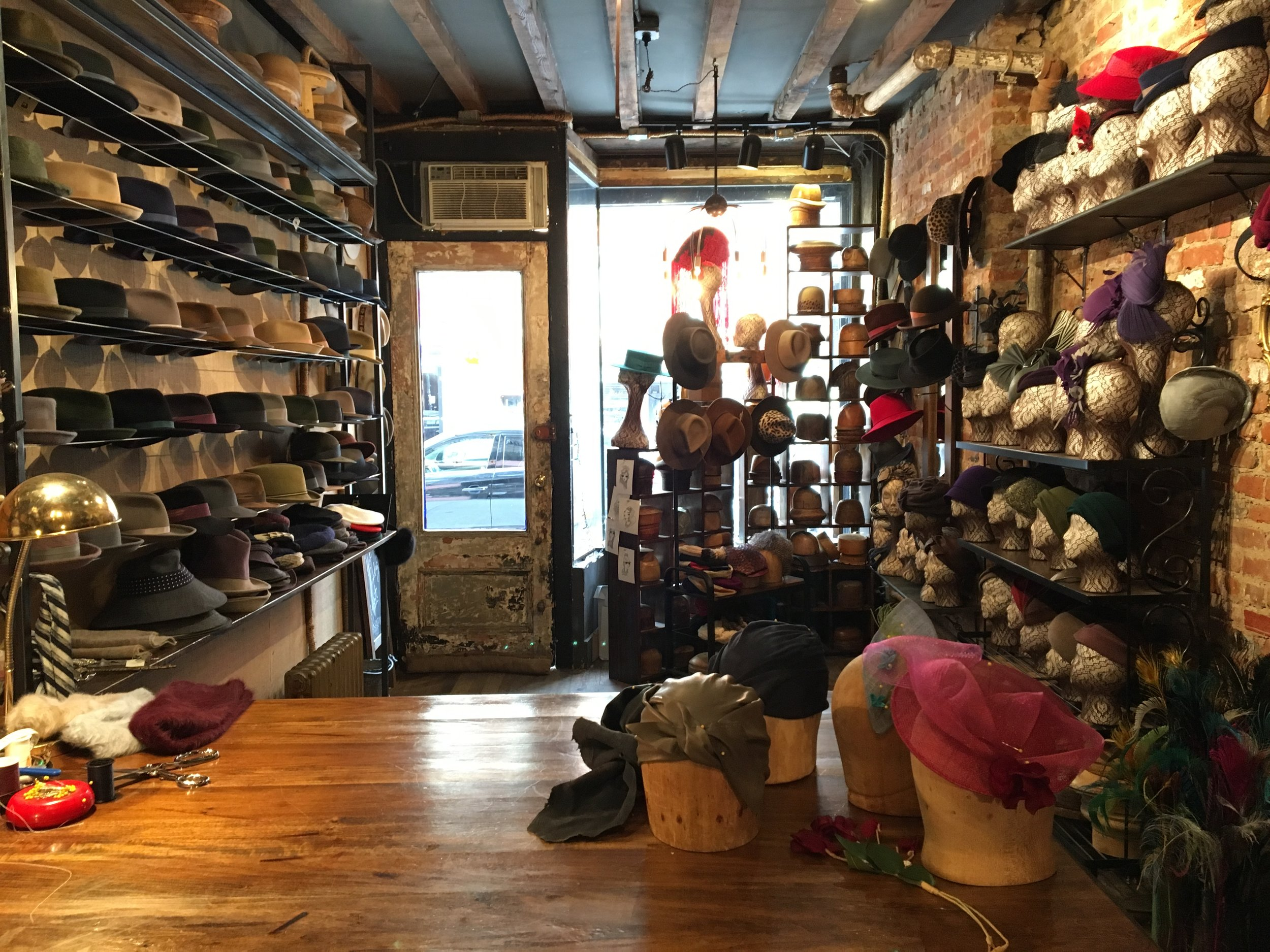 A glimpse at East Village Hats
