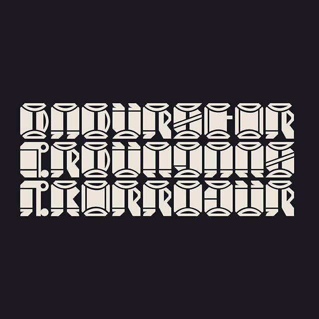 Þá þyrstir er þungan sækir róður #höfðaletur #krotkrass
