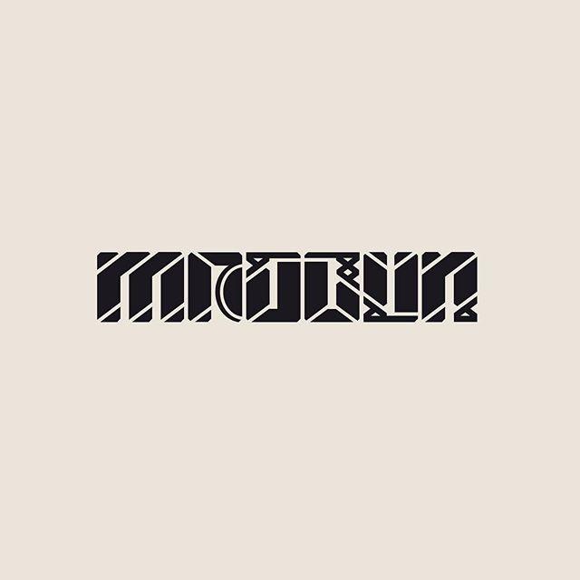 Meðbyr. One out of 10 Höfðaletur we've been working on lately. #höfðaletur #krotkrass