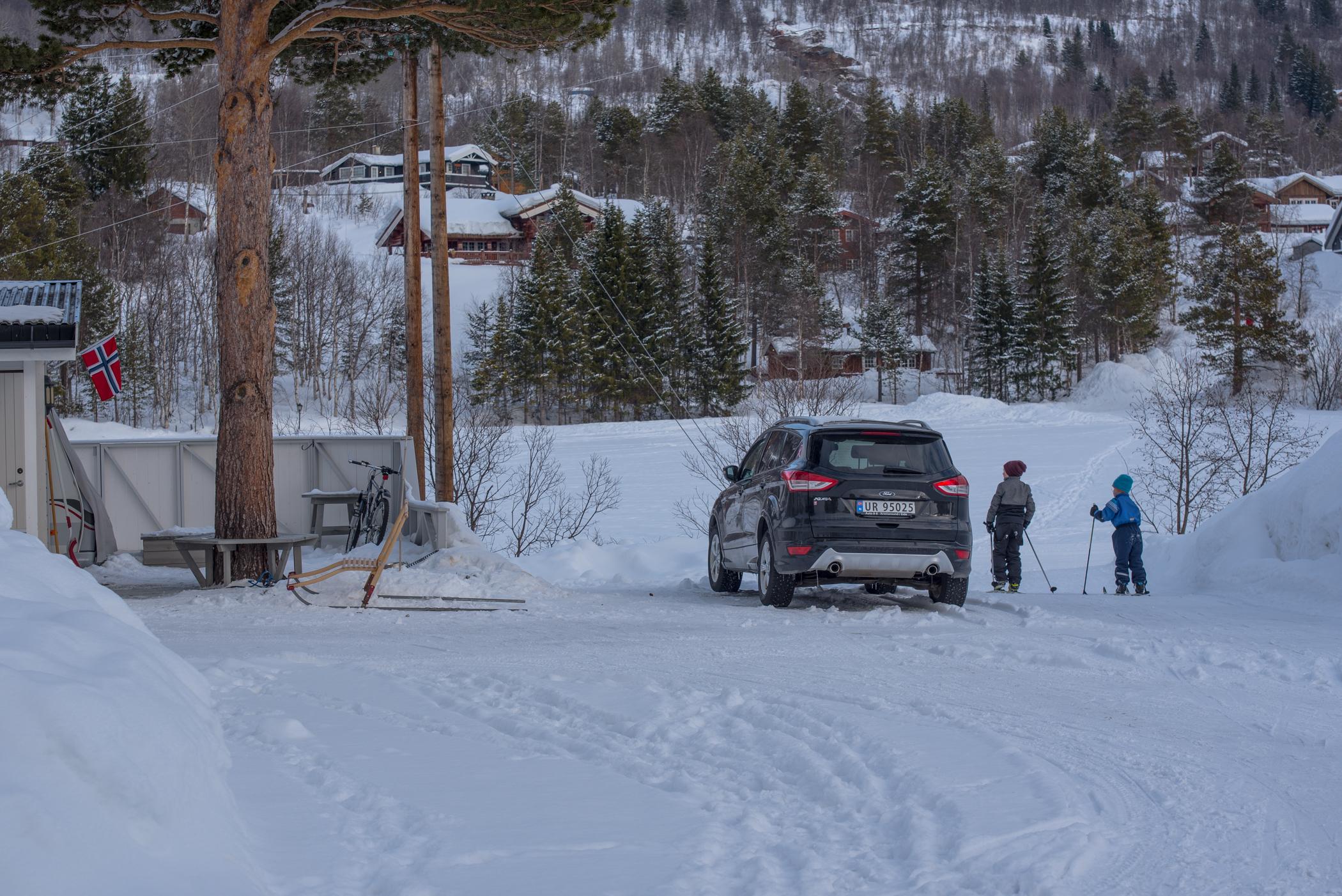 Ski in–ski out