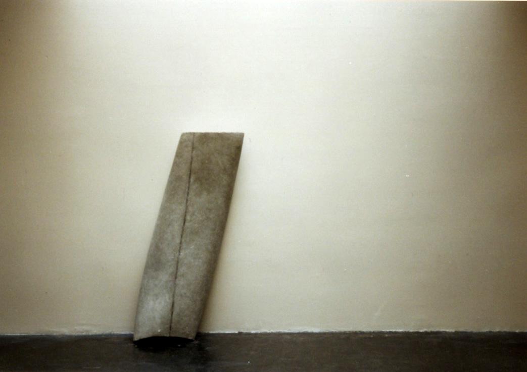 Cement . 1997. Dimensions: 150 X 50 X 40cm
