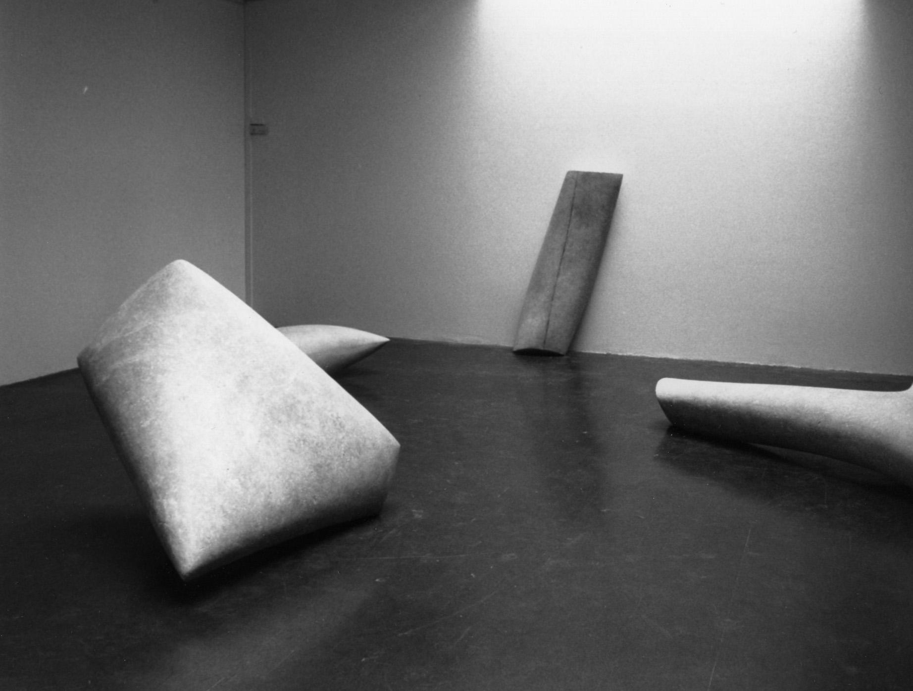 Exhibition view . 1998. Galerie des beaux-art. Rue des Beaux-Arts.Paris