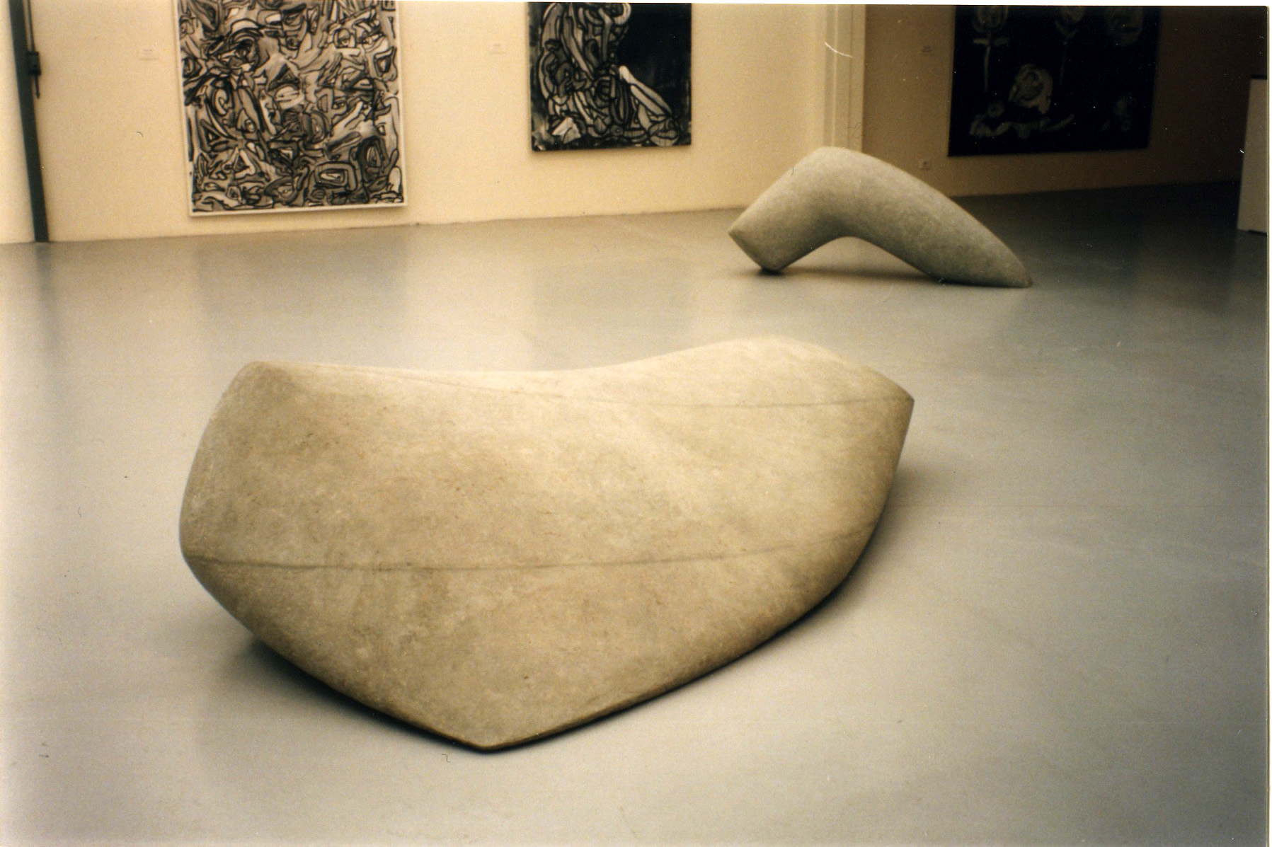 Exhibition view . 1998.                                                                  Fondation Coprim pour l'art contemporain. Paris