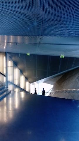 Sortie de l'auditorium de la Casa da Musica