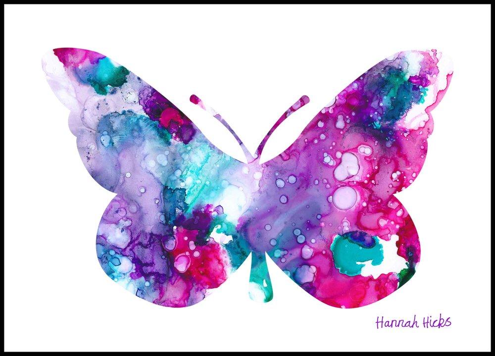 Hannah Hicks Butterfly