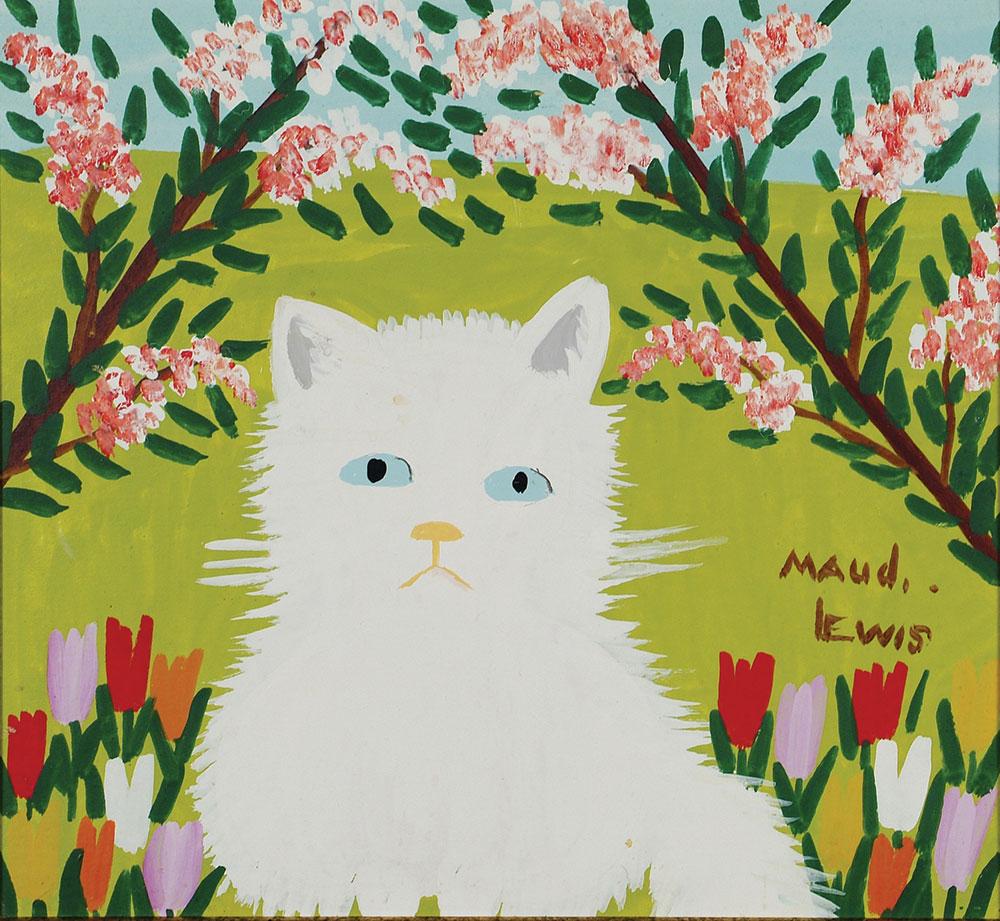 Maud Lewis -  Fluffy