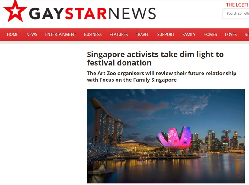 Gay Star News, 14 March 2017