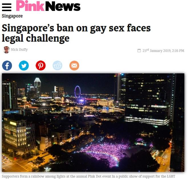 Pink News, 23 January 2019