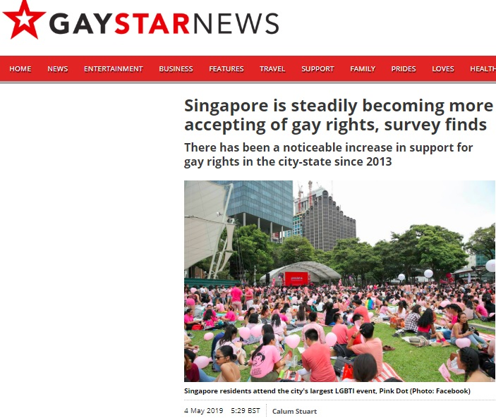 Gay Star News, 4 May 2019