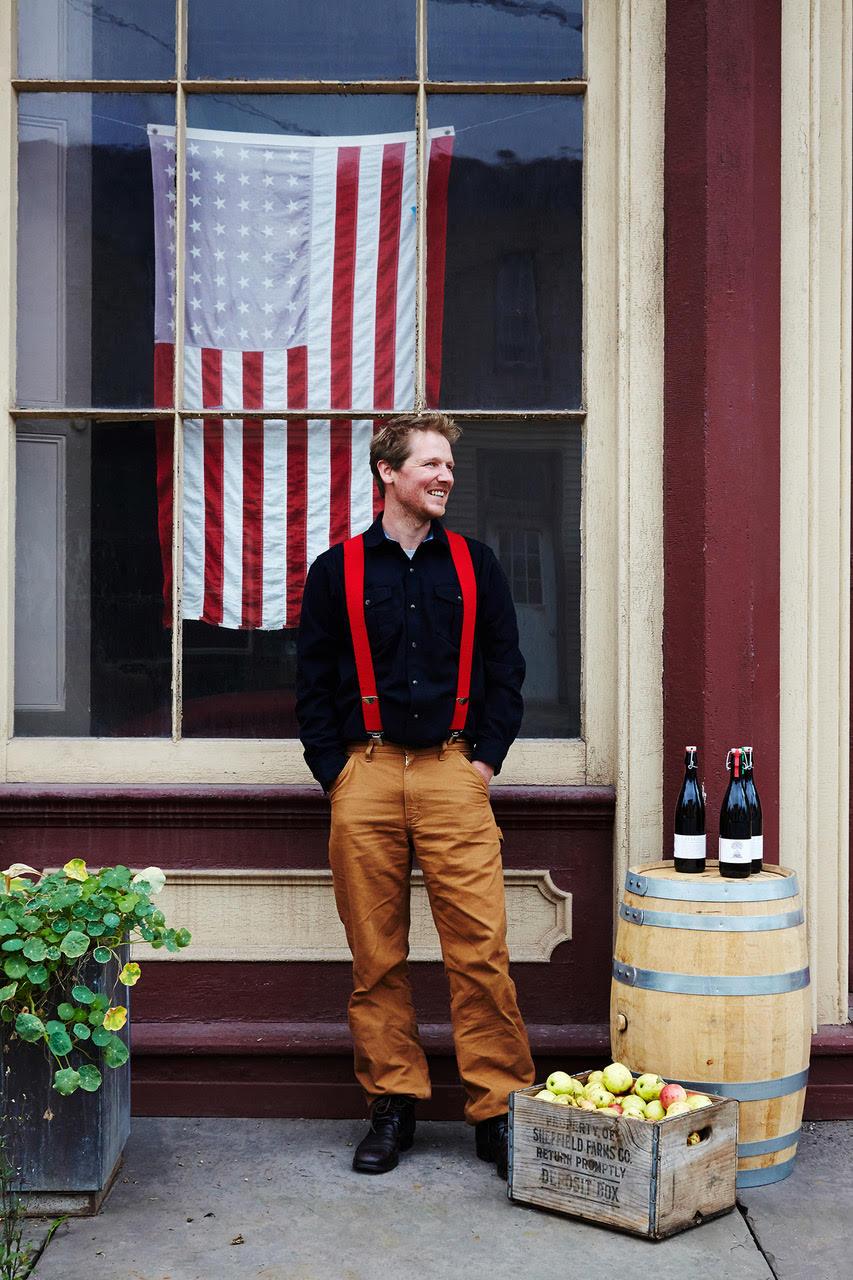 Alex Wilson, Wayside Cider. Photo by: NATALIE CHITWOOD