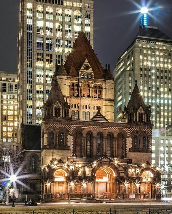 Trinity Church, c/o @ raw_cityscapes