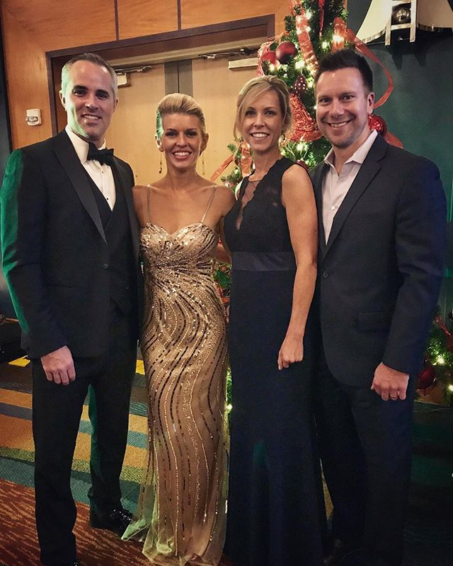 JD and I dressed up and joined our friends Brad and Kim Gillis for the United Way Holiday Ball over the weekend!