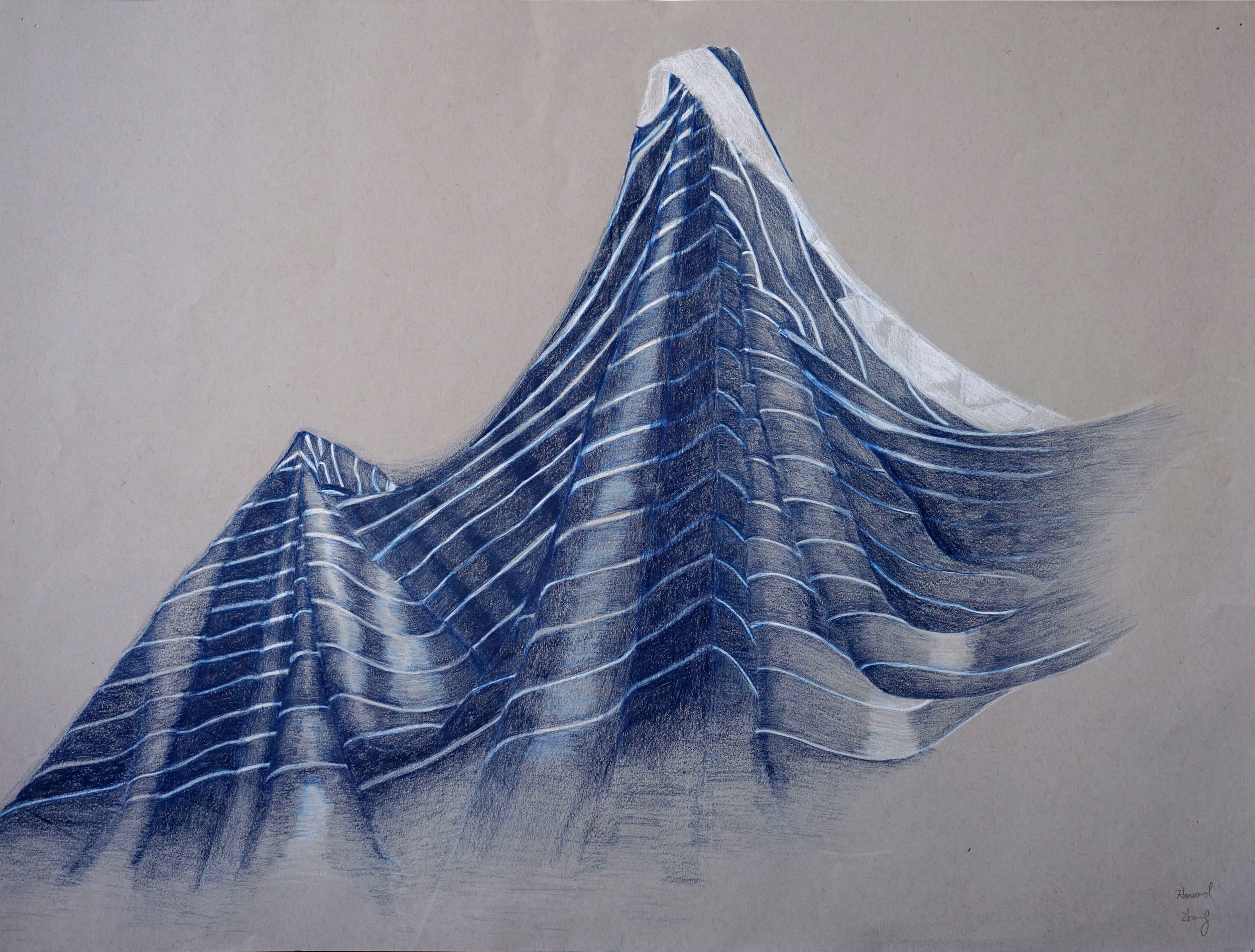 Fabric Drawing Howard Zhang