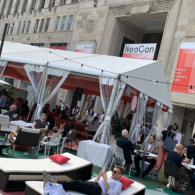 NeoCannes? We chose to attend #neocon over #cannes this year.  #neocon2019 #canneslions #xxy