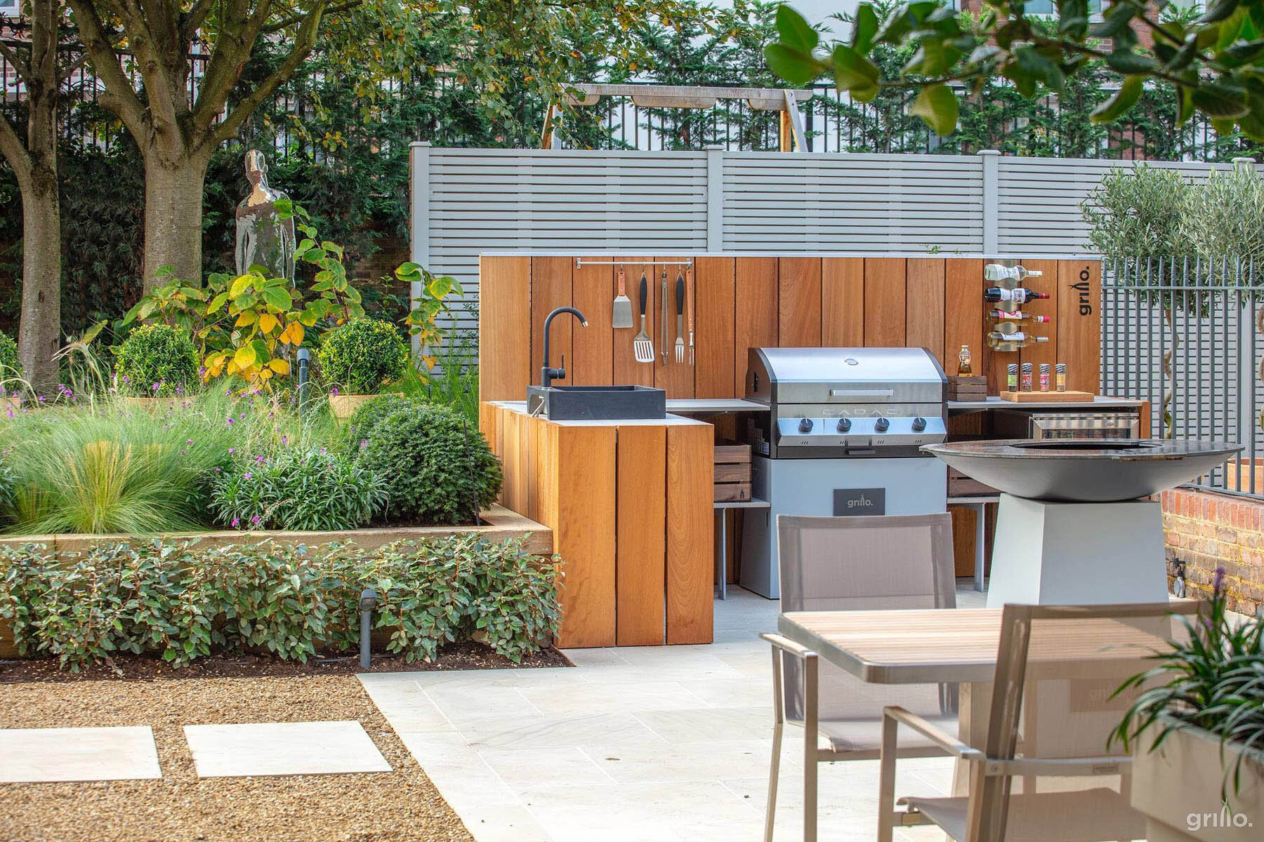 Grillo  Beautiful Outdoor Kitchens