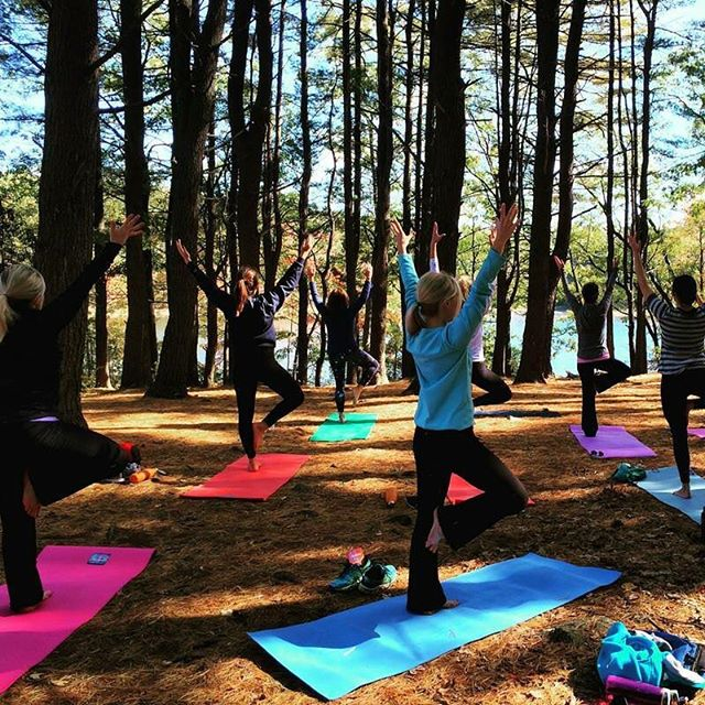 Don't miss all the fun free yoga at the event! From goat to beginner yoga we've got all types of fun in store! 🧘🏼‍♀️🌱#seekyouradventure #yellowwoodfestival #yogalovers #yogi #optoutside #livesimply #breathe #nature #mckinneytx #dallas #dfw #fitinspo #bringyourmat