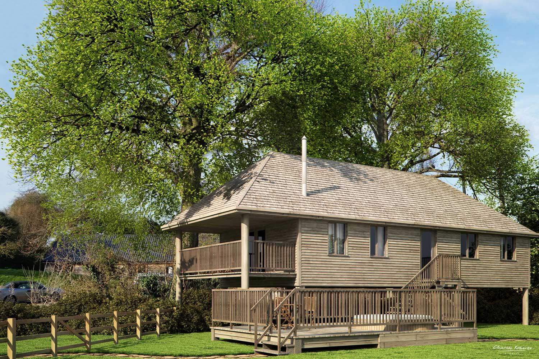 Luxury treehouse