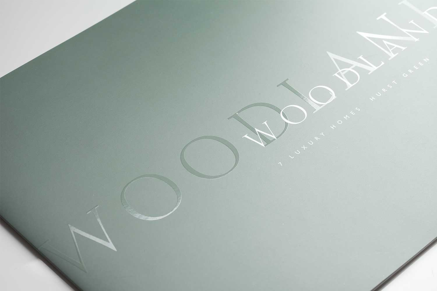 Property brochure design for a luxury property development in Sussex