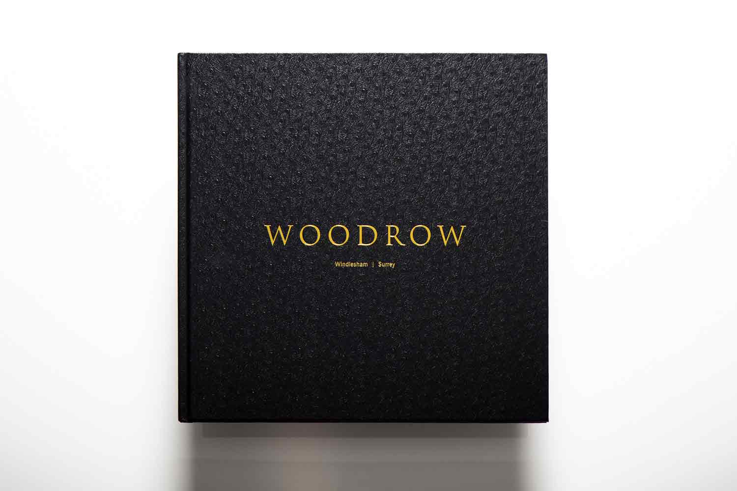 Property brochure design for Woodrow
