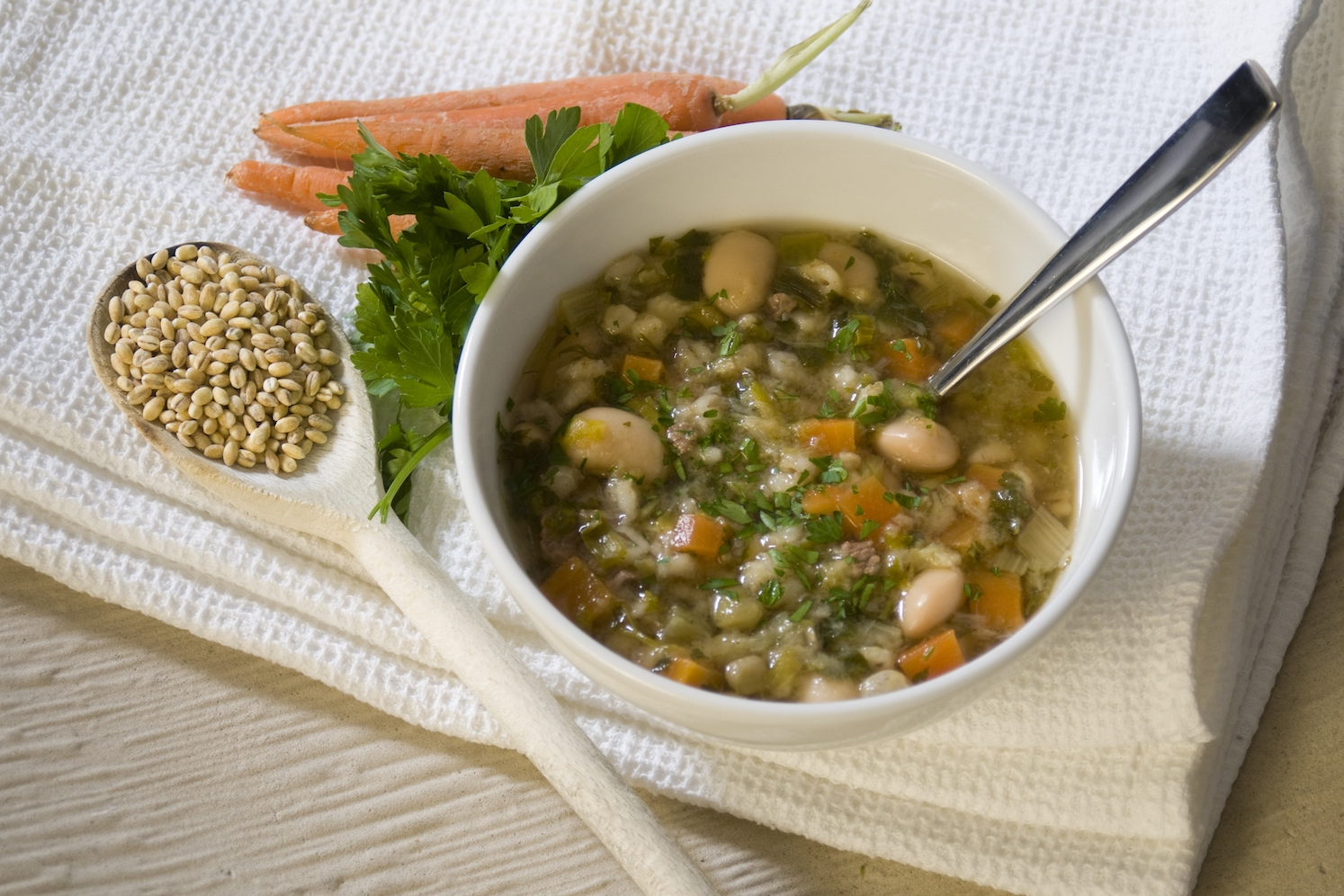 scotch broth (the secret is the butter beans!) -