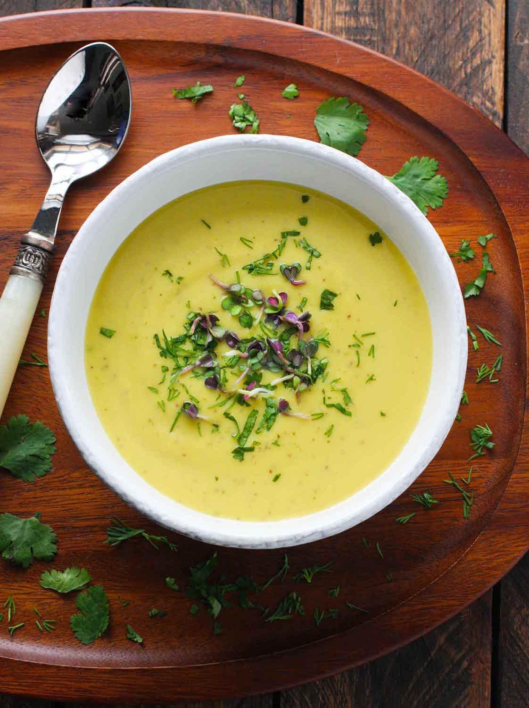 Broccoli Cauliflower Soup -