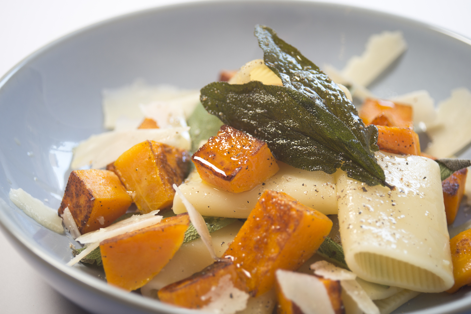 squash & sage pasta with pumpkin -