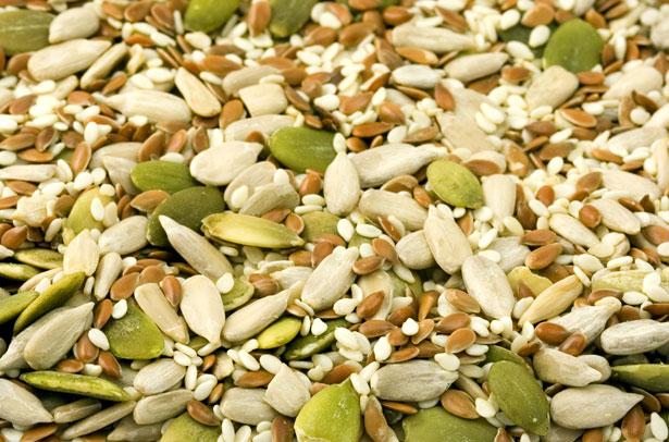 handful sunflower seeds = 80mg
