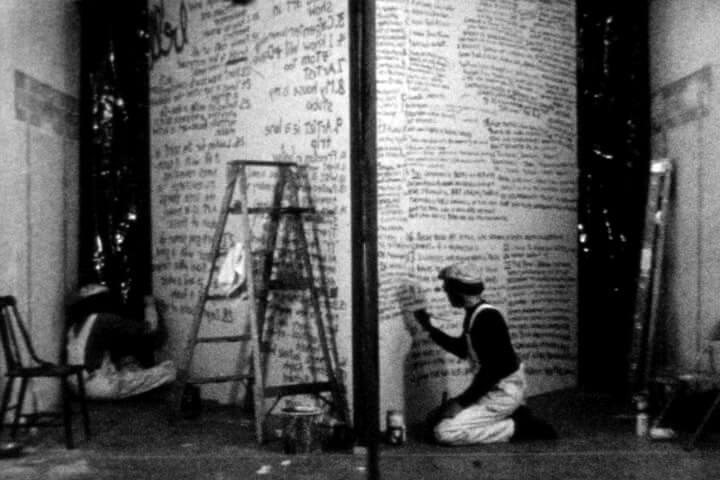 Wayne E. Campbell OF WRITING ON WALLS Film Still