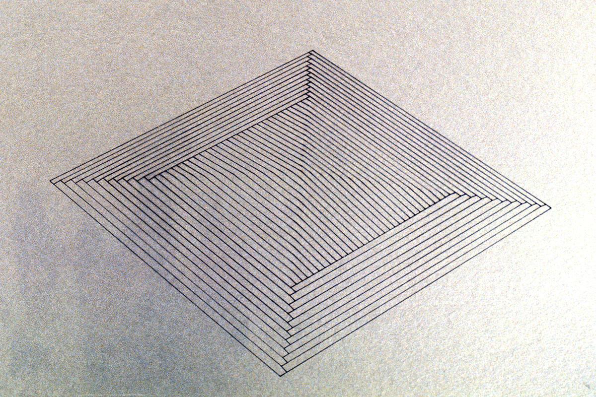 PYRAMID DRAWING (detail)