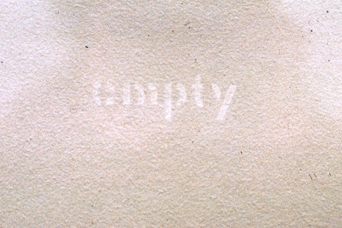 EMPTY (detail)
