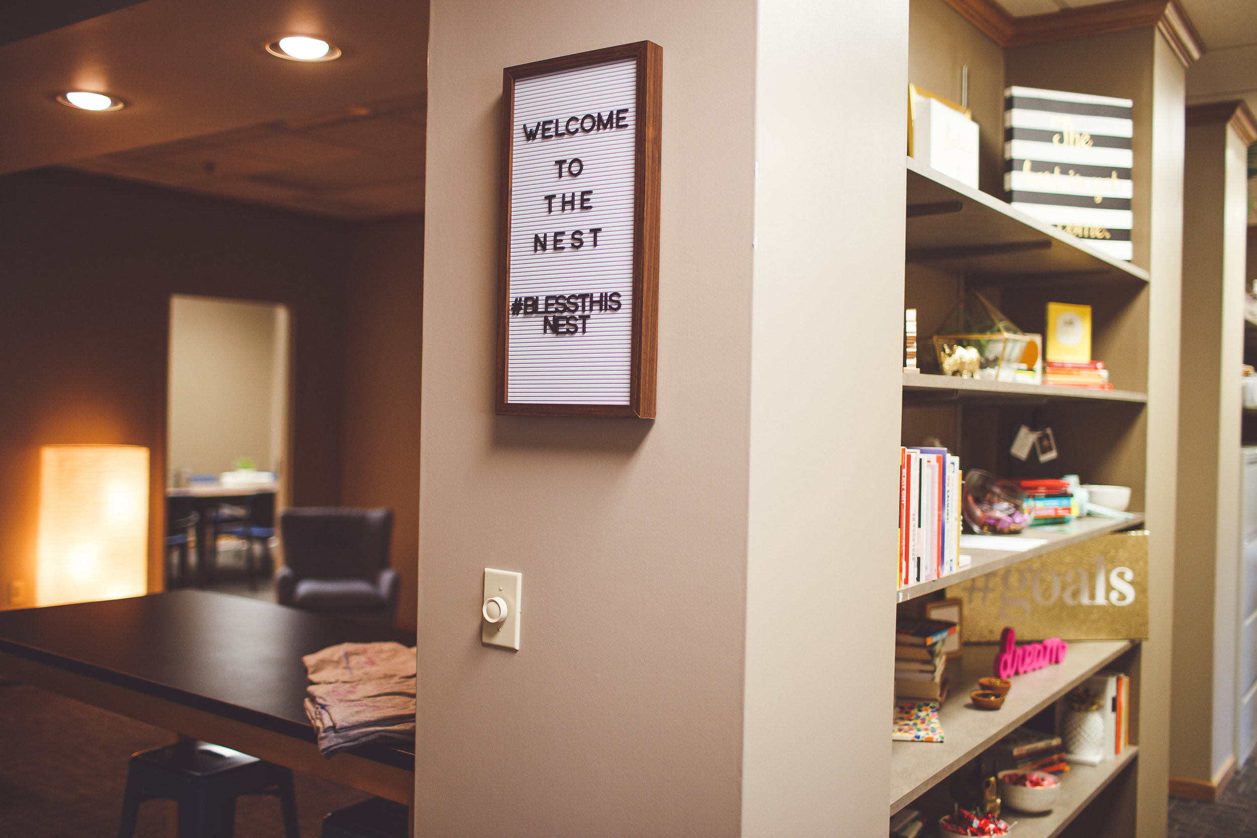 COWORKING MEMBERSHIPS - We all know there are so many distractions when working at home or the coffee shop. Come to The Nest where there are no dishes you need to do and the coffee is free.$99/month