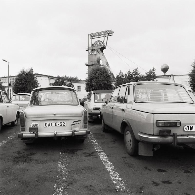 near Butler Geisen, former East Germany, 1990