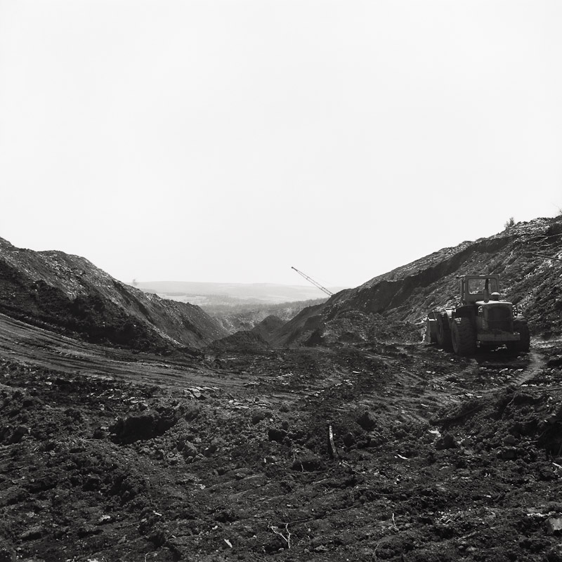 Strip mine, Frostburg, Maryland, 1990