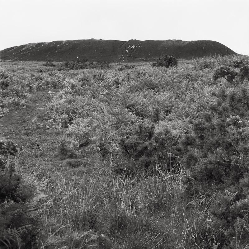 Slag heaps near Abercynon, Wales, 1990
