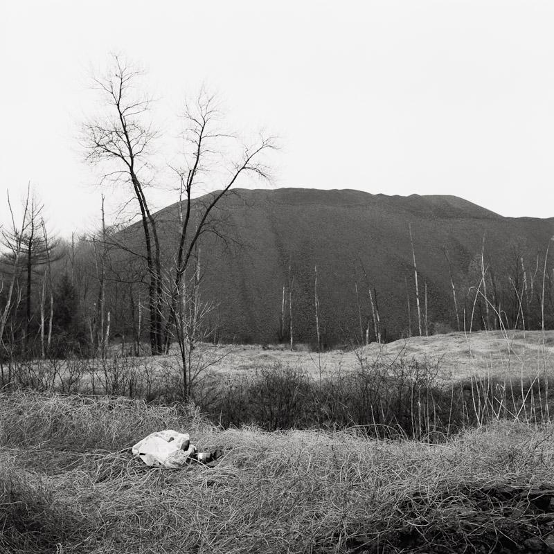 Large coal tip, Schuylkill County, Pennsylvania, 1990