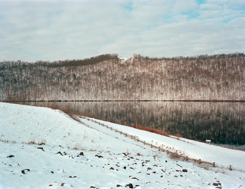 View of Ridenour Overlook, Huntingdon, Pennsylvania, 2013