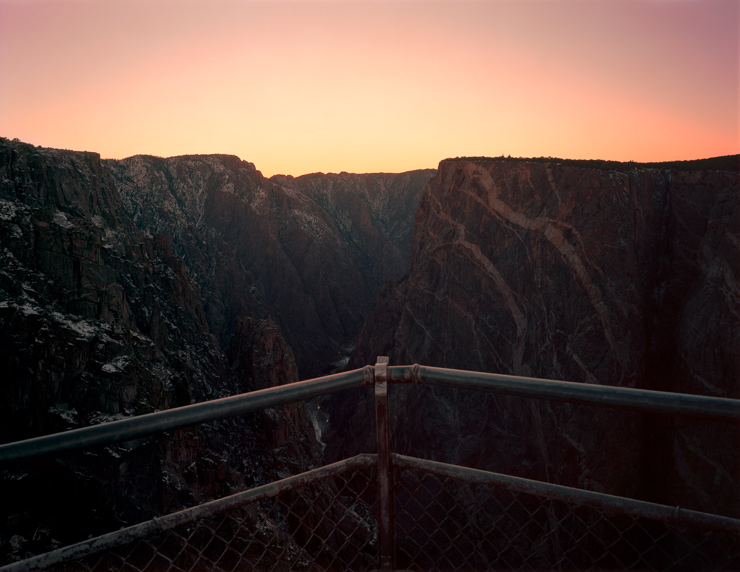Painted Wall View, Black Canyon of the Gunnison N.P., Montrose, CO, 2015