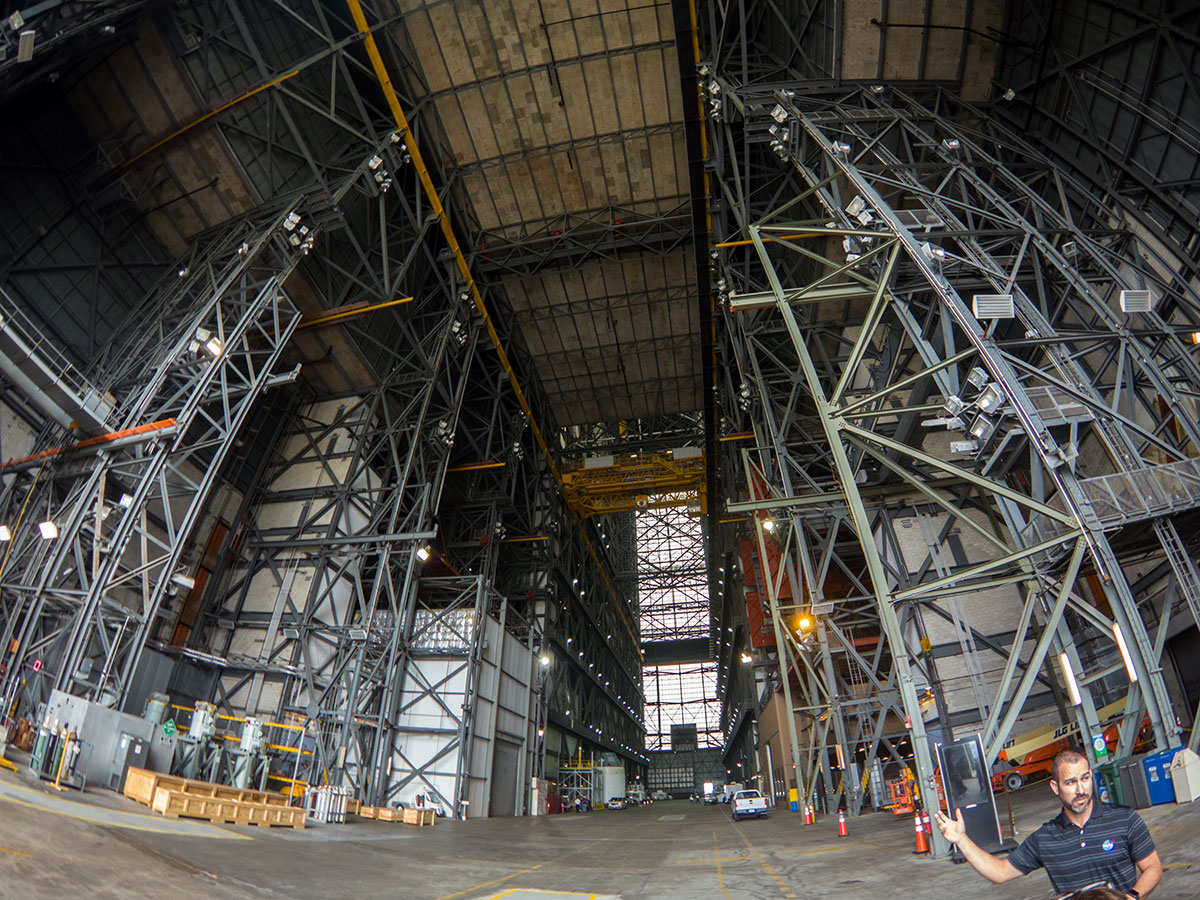 The Low Bay of the VAB