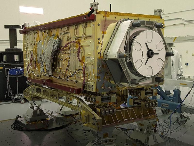 The Orbiting Carbon Observatory-3 (OCO-3) (NASA/JPL-Caltech)